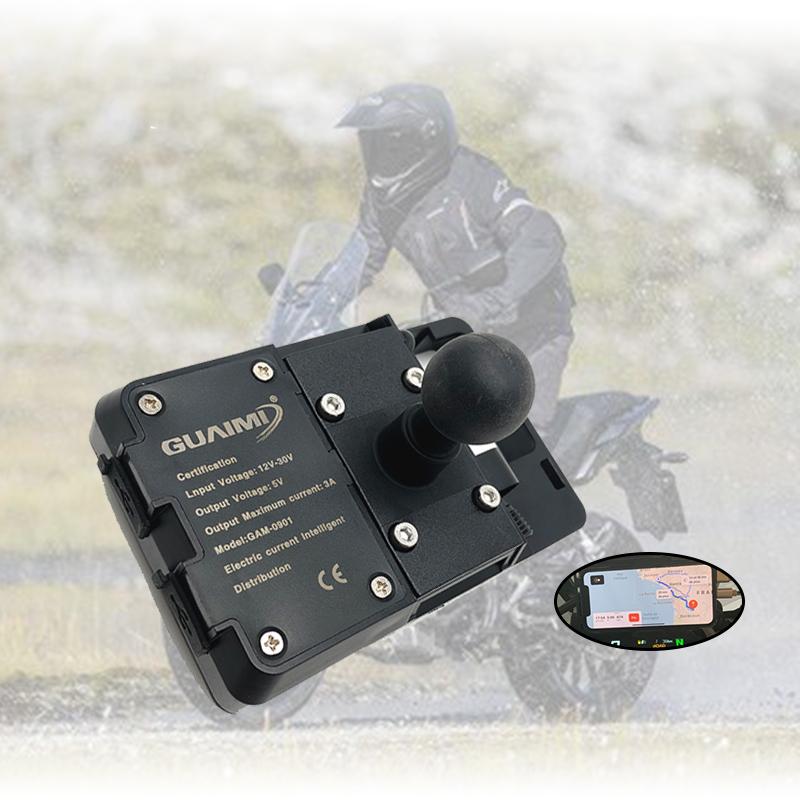 For HONDA <font><b>CB500X</b></font> CB 500X CB500 <font><b>2013</b></font> 2014 2015 2016 2017 2018 2019 2020 Motorcycle USB Charger Mobile Phone Holder Stand Bracket image