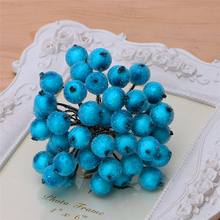 Decorative Mini Christmas Frosted Fruit Berry Holly Artificial Flowers