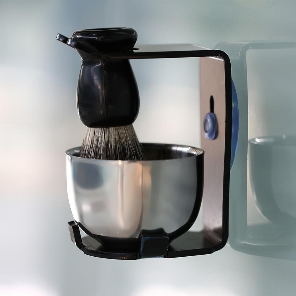aco inoxidavel tigela barba limpeza para homem 04