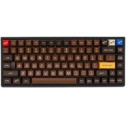 Xd84pro XD84 pro Набор механической клавиатуры на заказ 75% поддержка s TKG-TOOLS поддержка Underglow RGB PCB программируемый gh84 kle type c