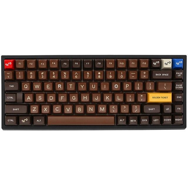 Xd84pro XD84 pro مجموعة لوحة المفاتيح الميكانيكية المخصصة 75% يدعم TKG TOOLS دعم underتوهج RGB PCB مبرمجة gh84 kle type c