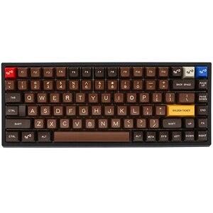 Image 1 - Xd84pro XD84 pro Personalizzato Tastiera Meccanica Kit 75% Supporta TKG TOOLS Supporto Underglow RGB PCB programmato gh84 kle di tipo c