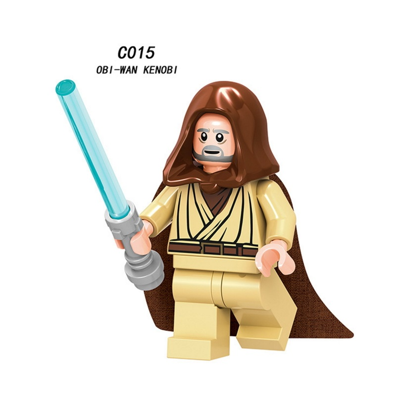 Mini Obi-wan Figure Star War Imperial Hovertank Pilot Figure Star War Building Blocks Bricks Toys Kids Gift Legoingly Ninjaed