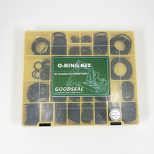 O-ring Kit For Excavator Sumitomo 32 sizes=510 Pcs  NBR 90 O-Ring kit kit 419pcs o ring o ring black rubber 32 sizes with case 3 50mm