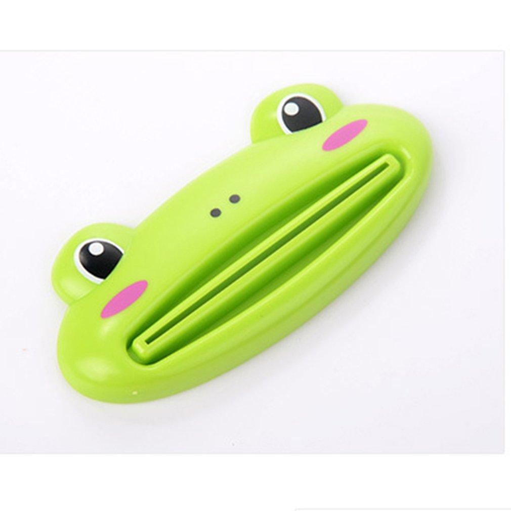 Lovely Animal Tube Squeezer Cartoon Bathroom Toothpaste Dispenser Easy Squeeze Paste Dispenser Pig Panda Frog Bear