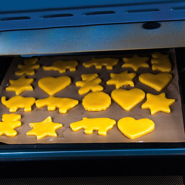 Tapis de cuisson antiadhésif résistant à la chaleur | Plaque de BBQ, Anti-huile, Linoleum huile papier, tapis pour pain pâtisserie cuisine ustensiles de cuisson