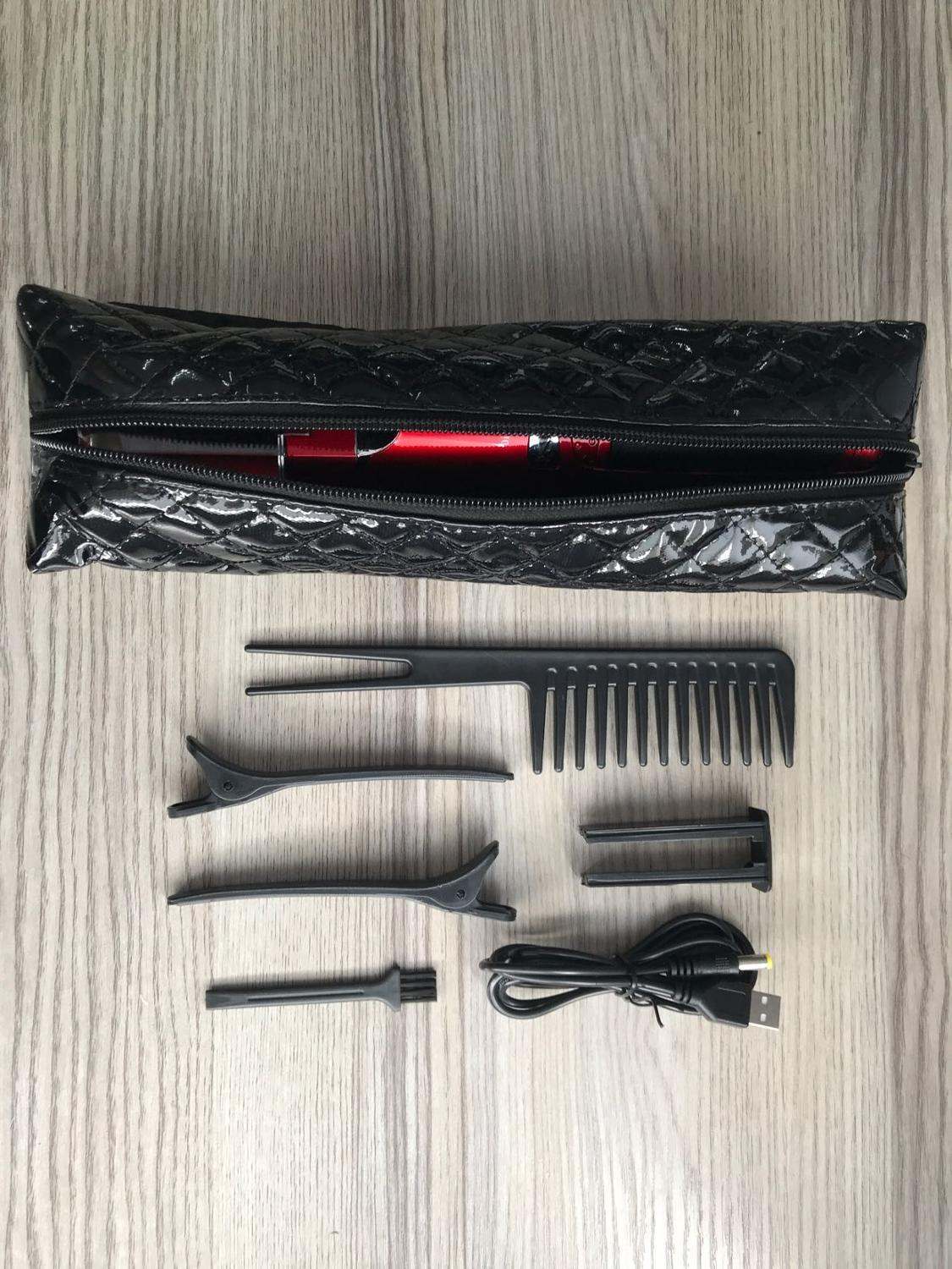 Hairdressing-Clipper Cutting-Hair-Tool Split-Hair-Trimmer Ends Solve Usb-Charging