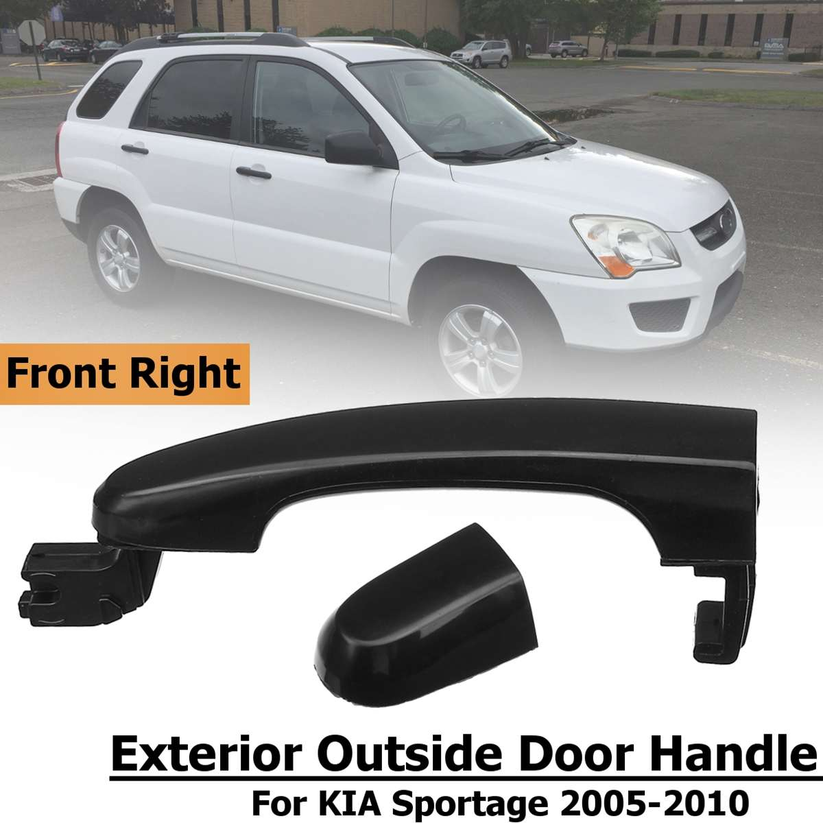 Front Left//Right Exterior Outside Door Pull Handle For KIA Sportage 2005-2010