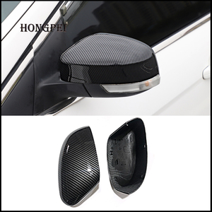 Image 1 - 2 pieces For Ford Focus MK3 MK2 2012 2017 Mirror Covers Caps RearView Mirror Case Cover Carbon Look Cover Car Styling Auto Parts