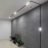 Scon 5 Вт 10 Вт 15 Вт 30 Вт 90 градусов линейный внутренний Магнитный светодиодный светильник