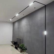 Scon 5 вт 10 вт 15 вт 30 вт 90 градусов линейный магнитный светодиодный светильник для помещения