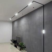 Scon 5W 10W 15W 30W 90 degree luminaire linear Indoor magnetic led light|Spotlights| |  -