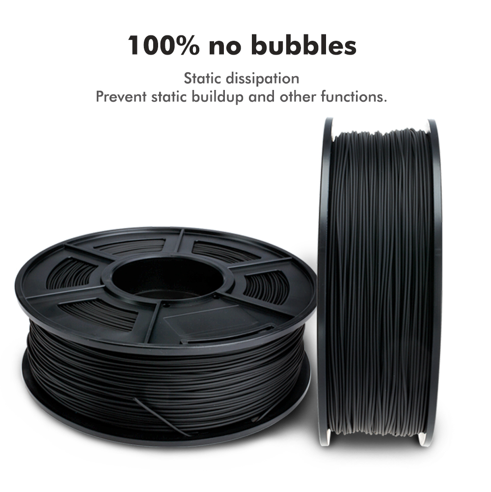 3D Printing PLA Filament 1KG Spool for 3D Printers /& 3D Pens ANYCUBIC 3D Printer 1.75mm Filament PLA Clear