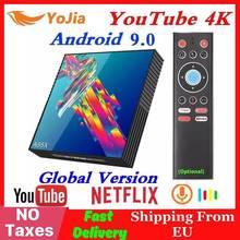RK3318 4K Smart TV Box A95X R3 Android 9.0 TV Box 4GB RAM 64GB ROM Wifi Netflix Youtube 2G16G Media Player PK H96 MAX
