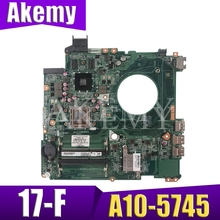 REV:D laptop motherboard For HP PAVILION 17-F series mainboard notbook
