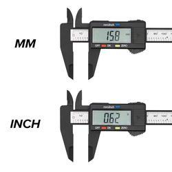 Digital Caliper 6 inch Electronic Vernier Caliper 100mm Calliper Micrometer Digital Ruler Measuring Tool 150mm 0.1mm