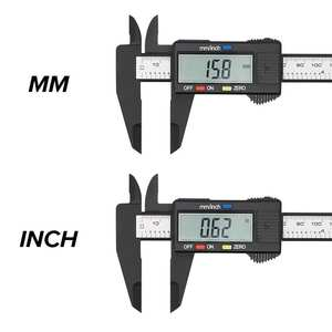 Measuring-Tool Micrometer Vernier-Caliper Digital Ruler 150mm Electronic 6inch 1mm