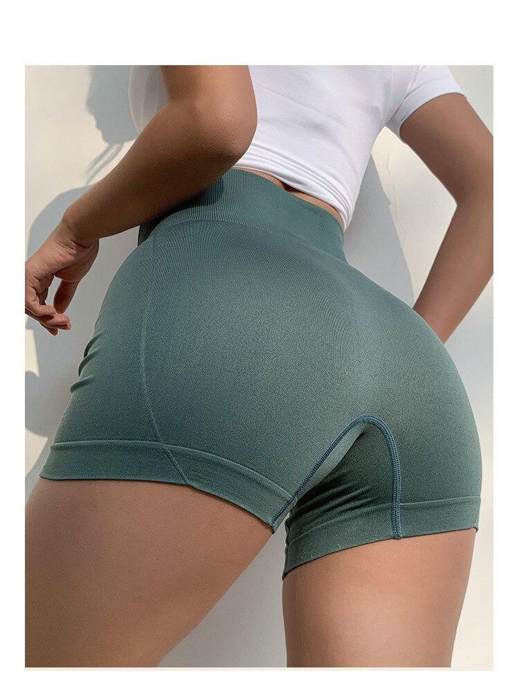High waist Push-Up Gym Shorts