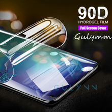 90D Curved Full Protective Hydrogel Film On The For Samsung Galaxy A10 A20 A30 A40 A50 A70 M20 J4 J2 A2 Core Screen Soft