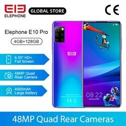 Смартфон в наличии E10 Pro, 4 + 128 ГБ, четыре задних камеры 48 МП, 6,55 дюйма, 4000 мА ч, NFC