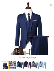 2020 mode Männer Anzug Slim Fit Prom Hochzeit Anzüge für Männer Bräutigam Smoking Jacke Hosen Set Benutzerdefinierte Casual Männer Blazer