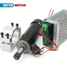 Spindle-Motor 52mm-Clamp Cnc 500w Power-Supply Cooled ER11 for DIY ROUER Speed-Governor