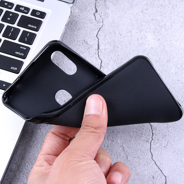 Soft Black Phone Cases for <font><b>Huawei</b></font> <font><b>Y7</b></font> Prime <font><b>2017</b></font> Pro Y9 2019 2018 Enjoy 9 8 9S Plus P Smart Plus Z Silicone Case Back Cover image
