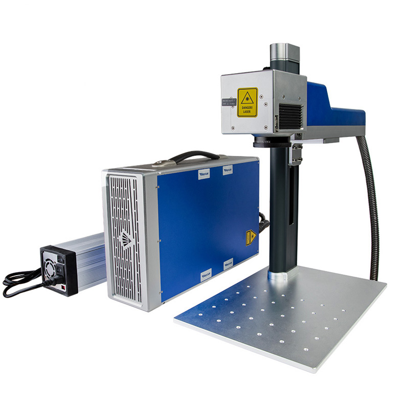 Promotional Fiber Laser Marking Machine 20W Raycus Source Metal Marking Machine