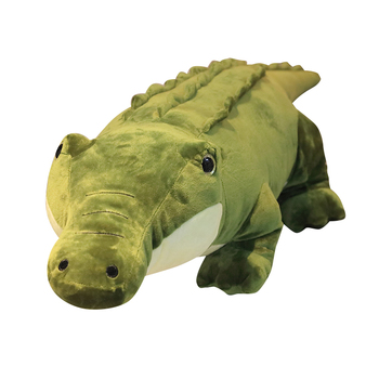 New Hot Simulation Crocodile Plush Pillow Toy Soft Stuffed Cartoon Animal Shape Alligator Doll Home Decoration Children Gifts 60cm colorful giant elephant stuffed animal toy animal shape pillow baby doll home decor peluche plush toys for children gifts
