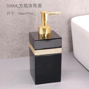 Image 4 - 400ml, 500ml, 800ml Resin European Shower Gel Soap Dispenser Lotion Bottle Hand Sanitizer Shampoo Moisture Press bottle
