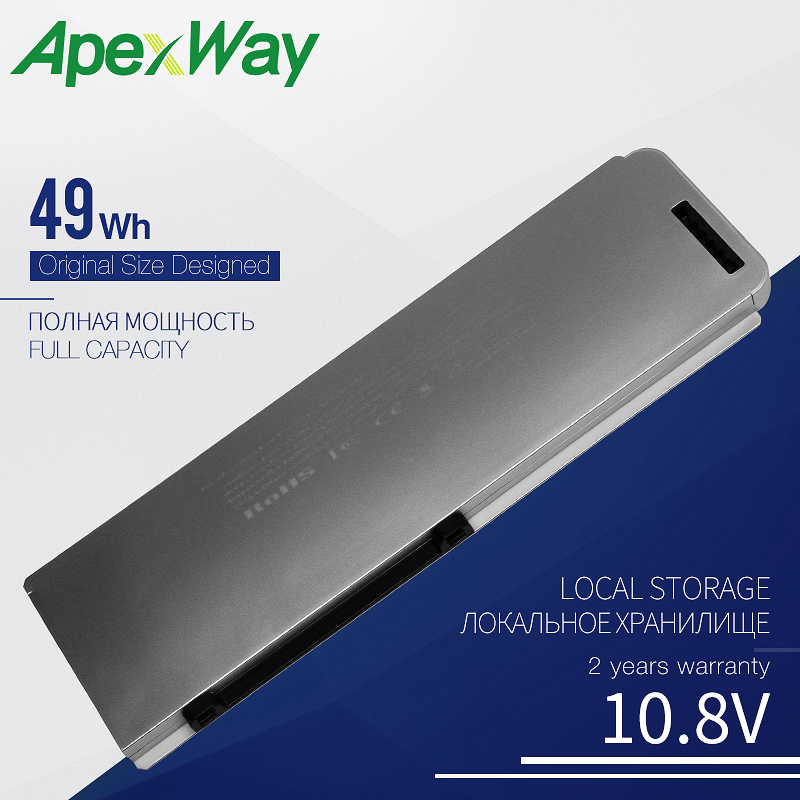 """10.8V 49Wh A1281 A1286 ( 2008 Version ) laptop battery For MacBook Pro 15"""" MB470 MB471 MB772 MB772*/A MB772J/A Laptop Batteries    - AliExpress"""