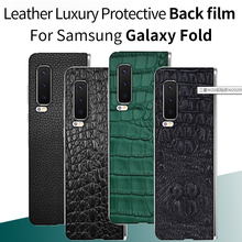 This is A Film Note Case Leather Luxury Protective Back film for Samsung galaxy fold Samsung galaxy fold galaxy fold Back film