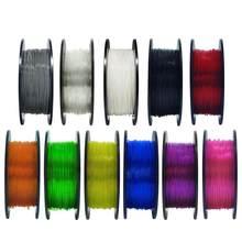 Material flexível do filamento de geeetech 0.4kg 1.75mm tpu para o armazém ultramarino das impressoras 3d