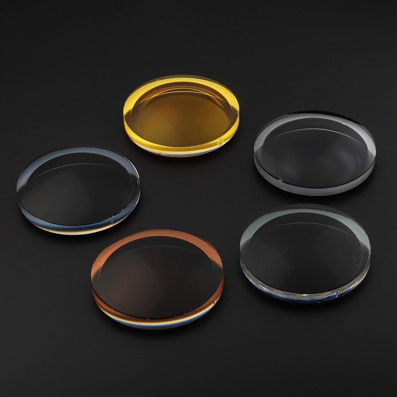 1.50 1.61 1.67 indice polarisé Prescription lentille myopie optique lunettes de soleil lentille UV400 Anti-réfléchissant conduite Vision nocturne lentille
