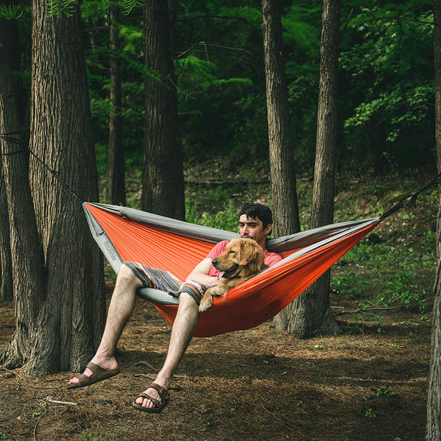 Survival Backpacking Double Hammock