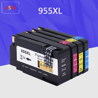 955XL 4PK Compatível 955 XL cartucho de tinta Para HP OfficeJet Pro 7720 7740 8710 8715 8720 8730 8740 8210 8216 8725 printer