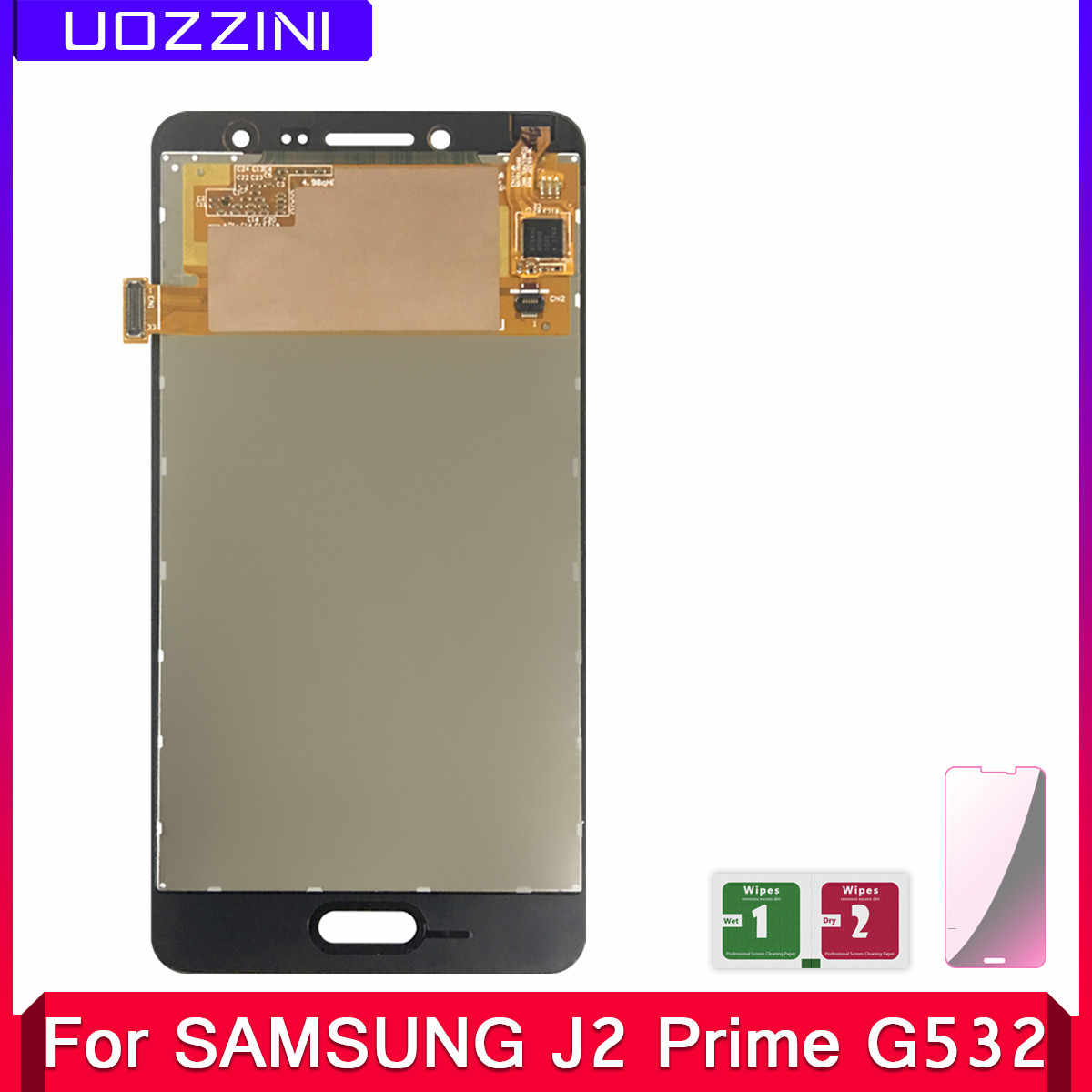 2 Pcs Lcds J2 Prime G532 LCD Display Touch Screen Digitizer Assembly LCD Display For Samsung J2 Prime G532 G532F G532M