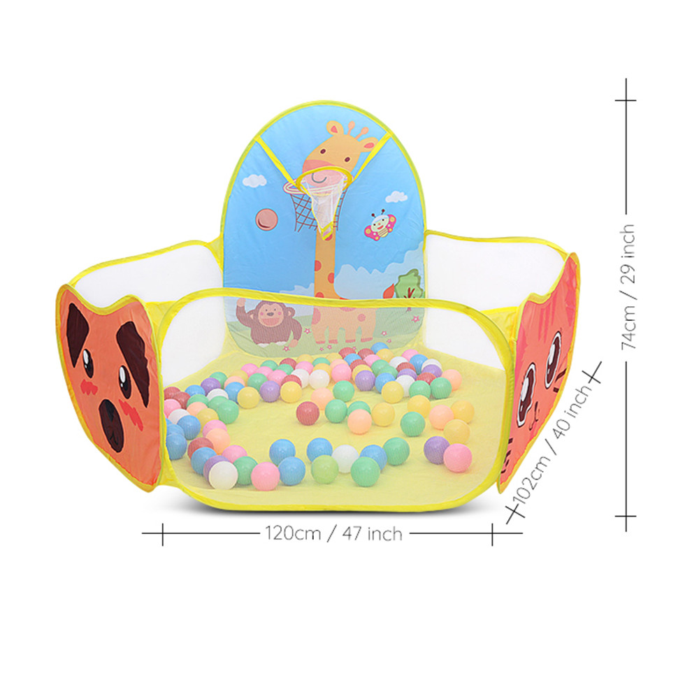 Cute Cartoon Printed  Baby Playpen It Easy To Carry And Store For Children Outdoor And Indoor Use 4