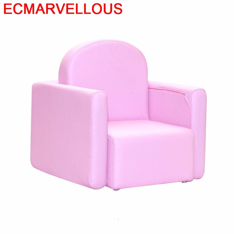 Coucher Bedroom Bed Princess Silla Infantiles Small Kids Chair Chambre Enfant Baby Dormitorio Infantil Children Children's Sofa