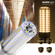 E27 Corn Bulb E26 LED 25W Lamp 35W 50W Lampara 220V Light 110V No Flicker For Outdoor Warehouse Lighting 5730