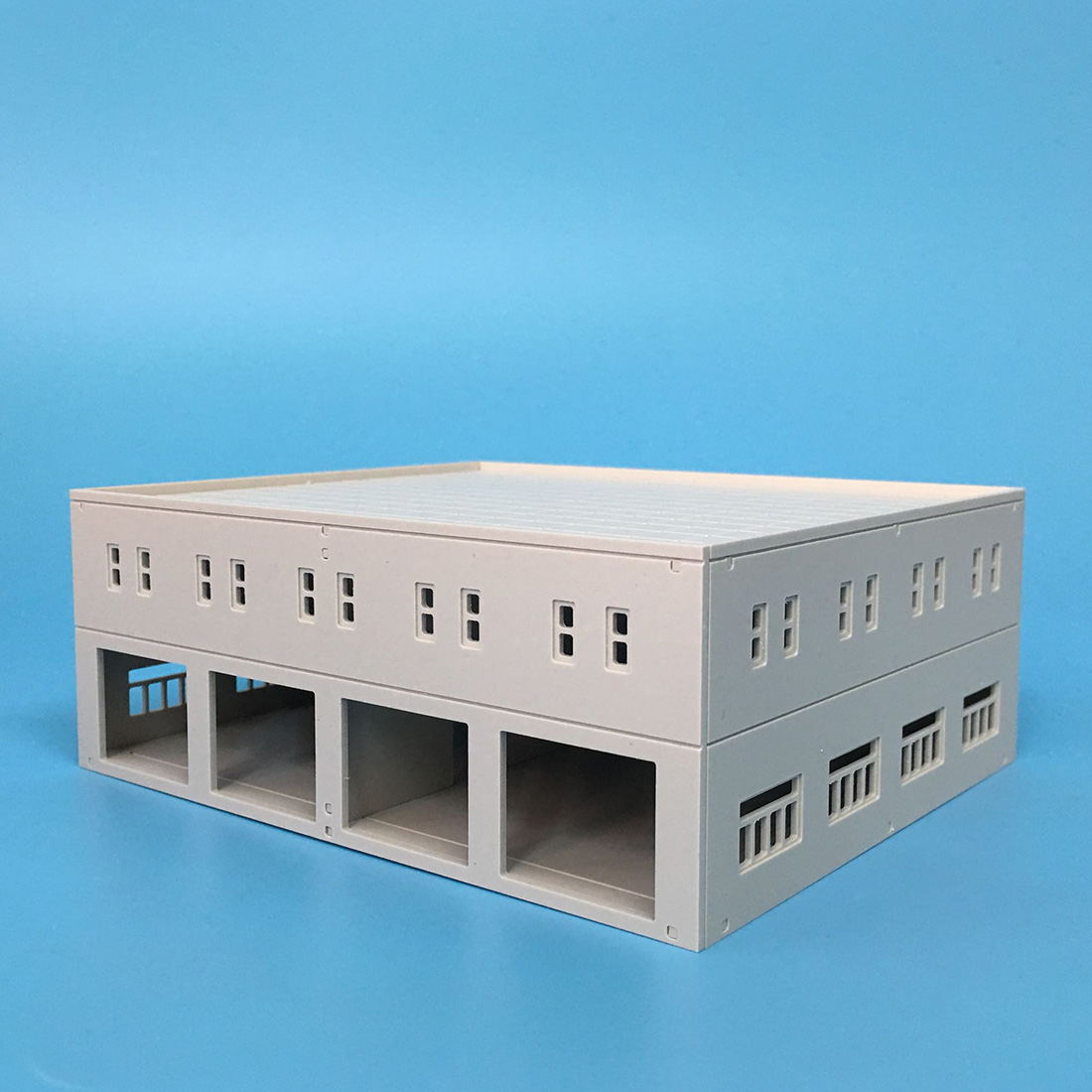 16 X 19 X 7.4cm 1:87  HO Scale Sand Table Decoration DIY Assembly Model Factory Model Accessories 2020 New Arrival