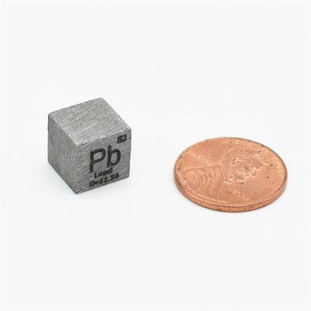 Plumbum Lead Pb Cube High Purity Research and Development Element Metal Simple Substance Refined Metal 10x10x10 mm high purity hafnium metal beads 1 grams 99 9% purity