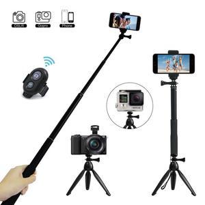 Długi Selfie kij Bluetooth kardana ręczna dla sportu Huawei Xiaomi 9 Redmi Note Pro Smartphone iPhone 5S 8 X Samsung 360 statyw