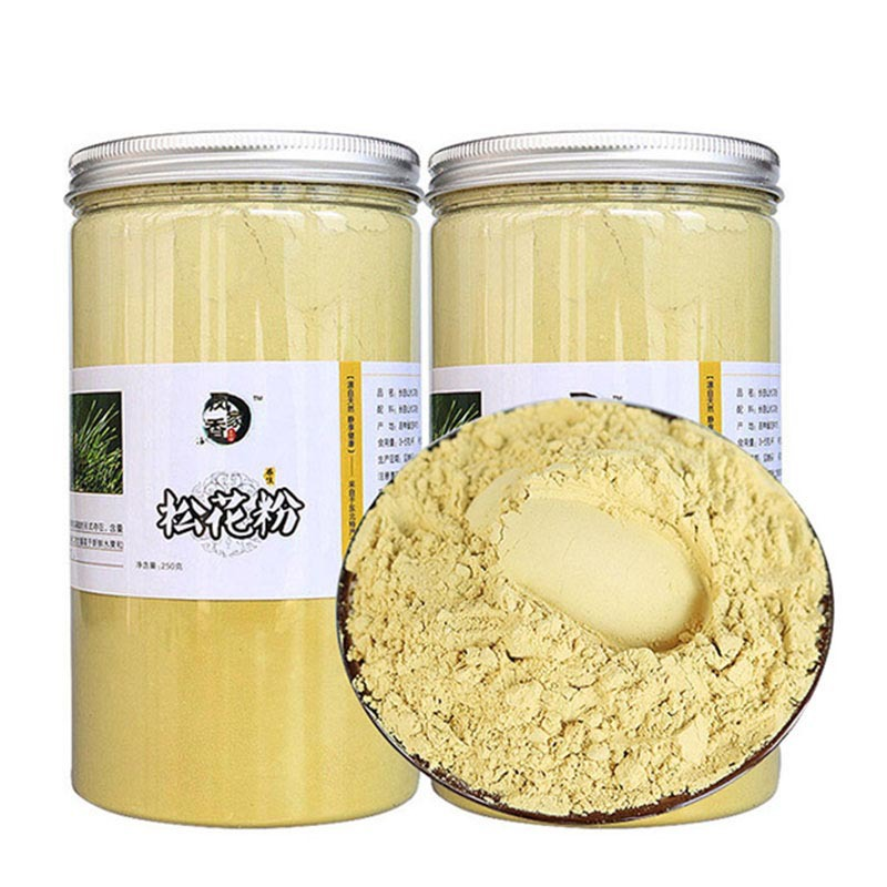 250g-1000g High Quality Pure Broken Wall Pine Pollen,Natural Masson Pine Wild Genuine No Sugar,No Added Additives,Pine Pollen