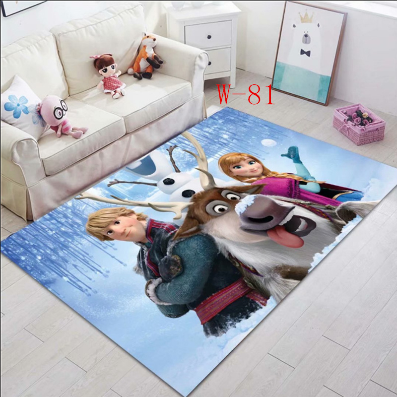 Disney Frozen  Elsa Anna Double Floor Mat Bathroom  Mat Kitchen Mats Door Mats Outdoor Indoor Carpet Rug Birthday Gift
