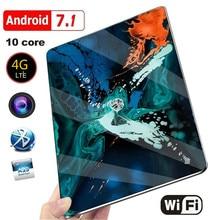 2021 New 10 Inch Tablet Pc Dual SIM 4G Phone Tablet  WIFI Andriod 9.0 Ten Core 6G RAM+128G ROM Tablet  Dual  GPS Phone Pad
