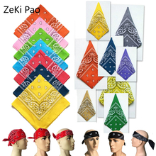 Bandana Face Mask Cloth Masks Washable Korean African Women Scarf 100% Cotton Paisley Printed Designers Coverings
