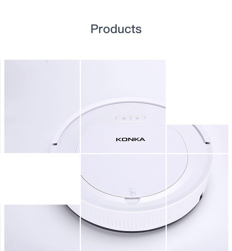 IKONKA V88 Automatically Chargeable Robot Vacuum Cleaner For Hard Floors and Carpet 22