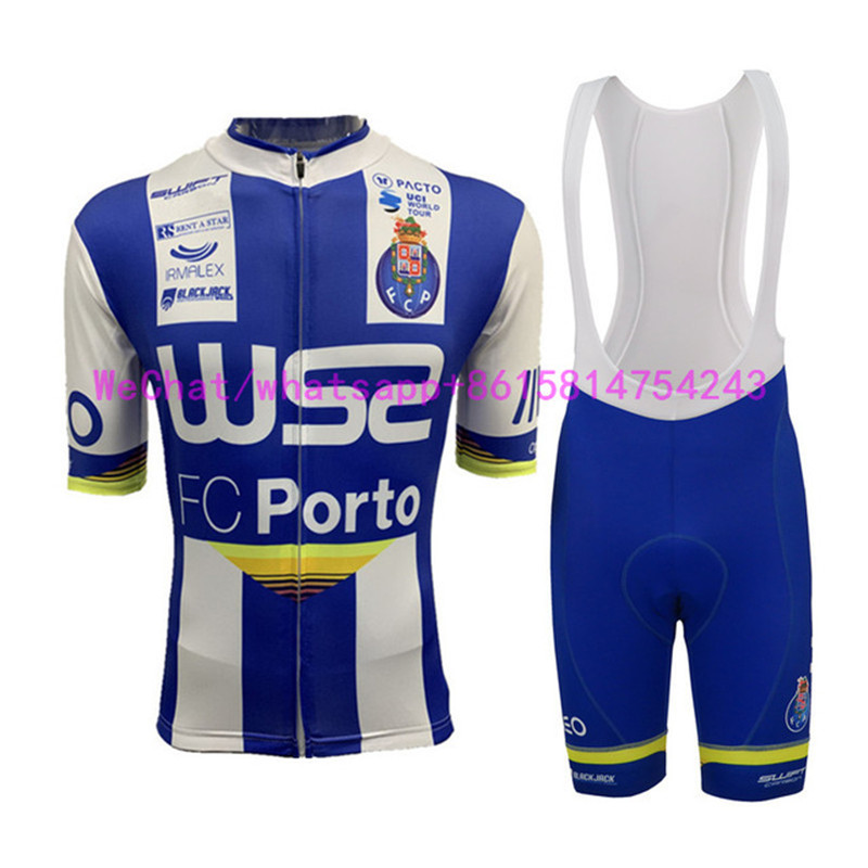 2019 FC Porto Pro Team Dh Sporting Racing Cycling Jersey COMP Bike UCI World Tour Bike Ciclismo Custom Kleding Manufact