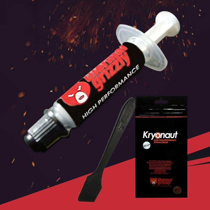Grizzly Kryonaut CPU Thermal Paste Silicone Grease Thermal Paste For CPU Cooler Graphics Video Card Compound Cooling Accessories